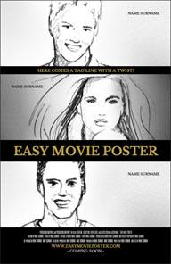 Easy movie poster maker